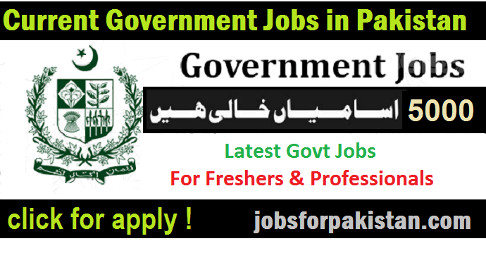 latest govt jobs in pakistan in banks
