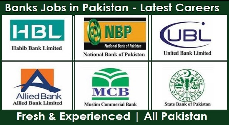 New Banks Jobs in Pakistan for fresh Graduates - Latest Careers