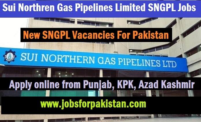 New SNGPL Jobs 2020