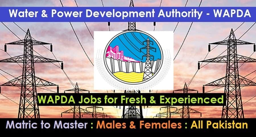 New WAPDA jobs