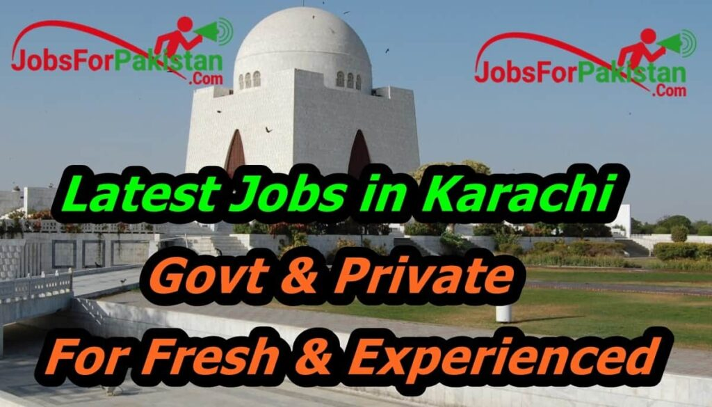 new jobs in Karachi 2020